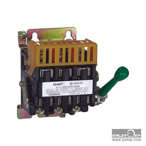具有高短路电流的配电回路和电动机回路中作为电源隔离器,并作为电路